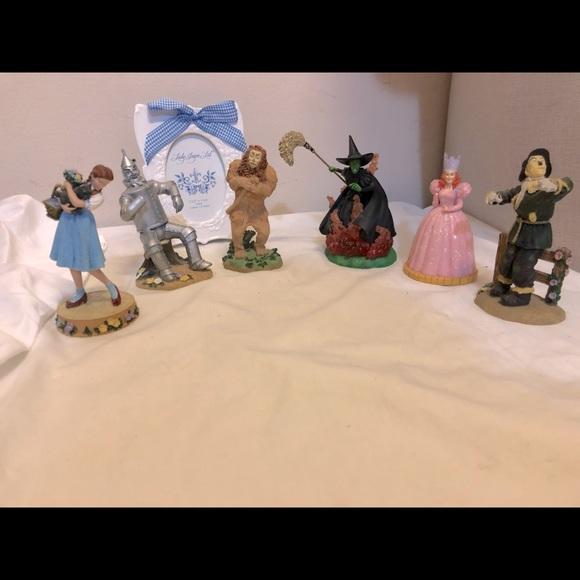 Enesco 6in wizard of oz figurines